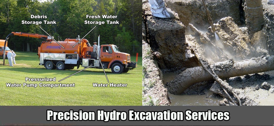 TSR Trenchless, Inc. Hydro Excavation